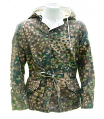 WW2 German WW2 Pea dot camouflage reversible winter parka
