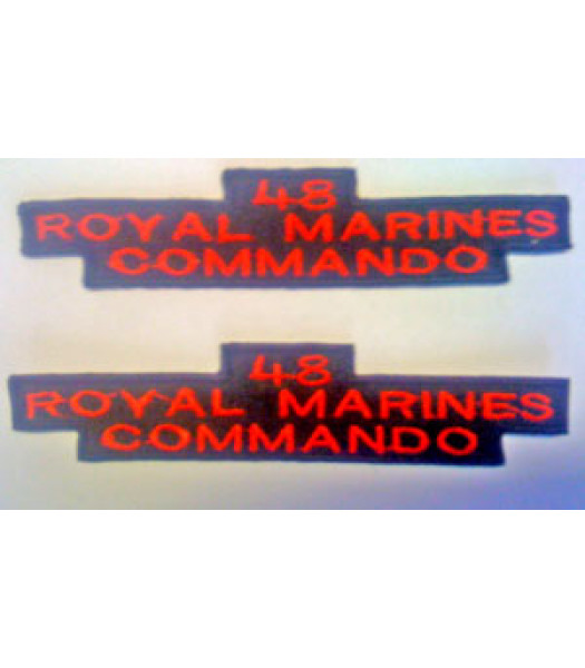 48 Royal Marine Commando Shoulder Titles