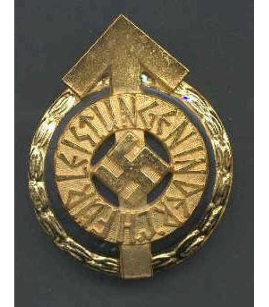 WW2 German Hitler Youth Golden Leader Badge