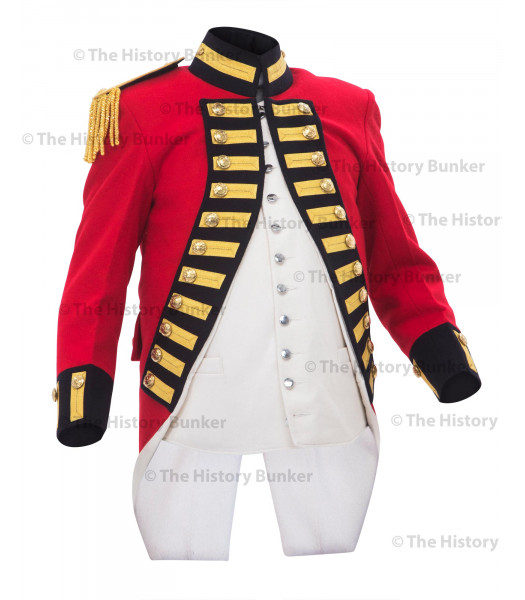 1795 7th regiment of foot officers Royal Fusiliers coat