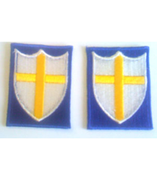 8th Army -  1 Pair - WW2 British Insignia