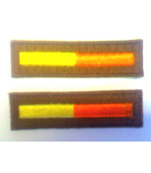 Branch of Service - Artillery - 1 Pair