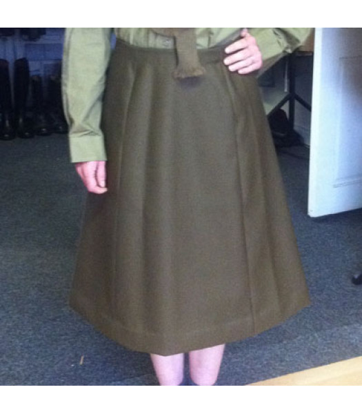 WWII ladies  ATS service dress skirt