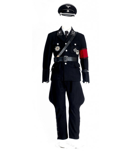 WW2 German SS Allgemeine Officer Uniform Package FOR HIRE