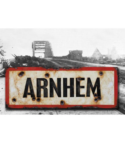 Arnhem - Vintage Road and Place Name Sign