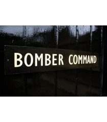 WW2 British Bomber Command door sign