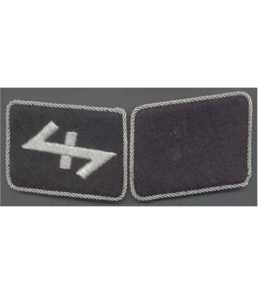 SS Brigade and SS Nederland Foreign Volunteer Collar tabs