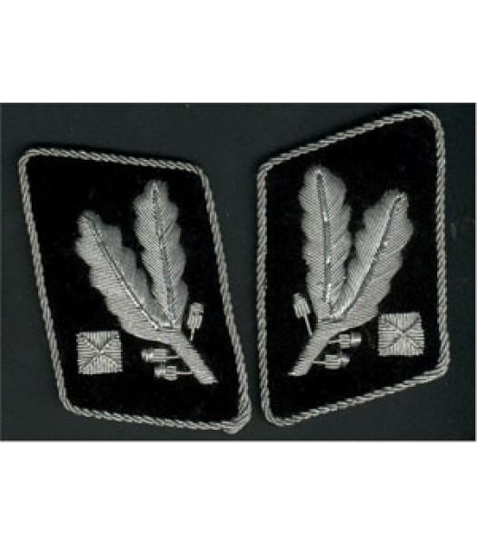 SS Brigadefuhrer 1st version collar tabs