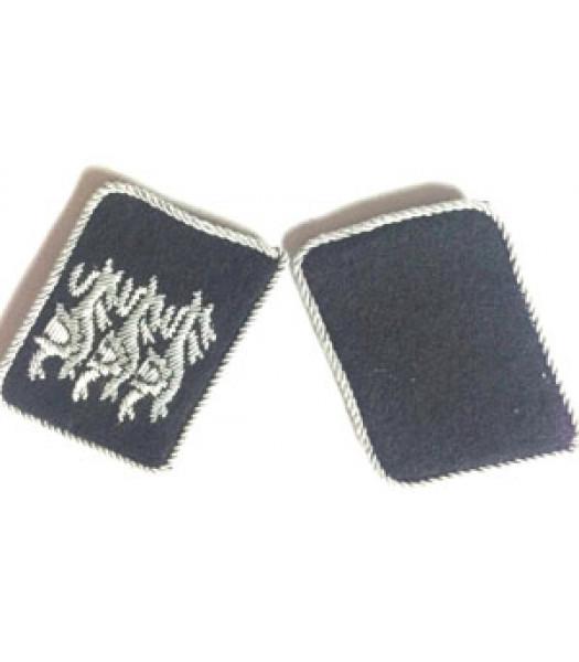 British Free Korps SS Officer Collar Tabs - 1 Pair