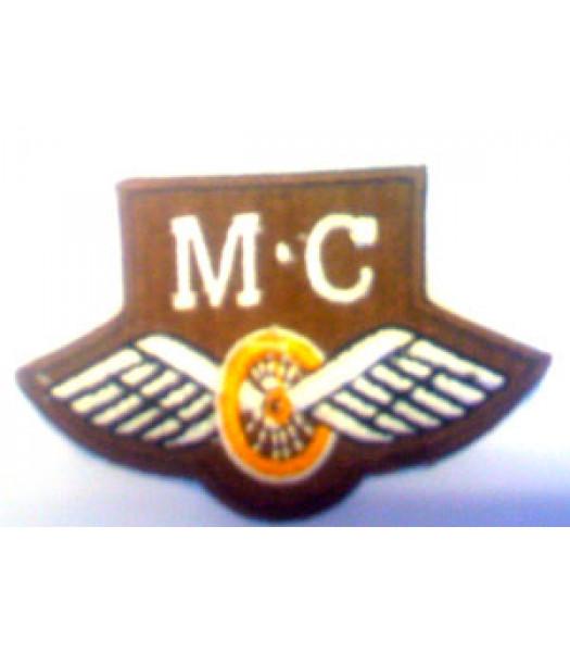 Motor Cyclist trade badge