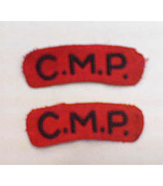 CMP Shoulder Title