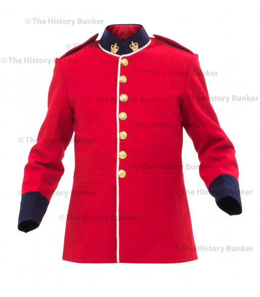 "1881 British army ""Jam Pot"" tunic"