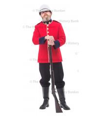 1881 British Victorian soldier  uniform