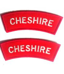 Cheshire Shoulder Titles