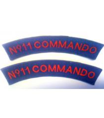 No 11 Commando shoulder titles