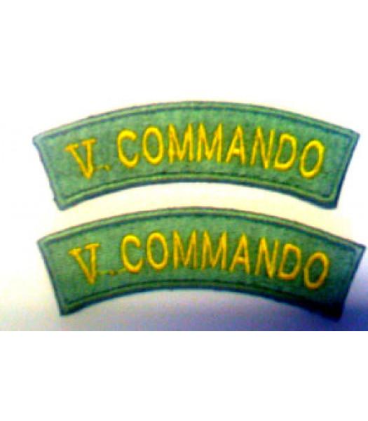 no 5 Commando shoulder titles