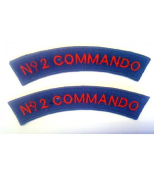 No 2 Commando shoulder titles