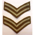 Rank Stripes and Officers Pips and Crowns
