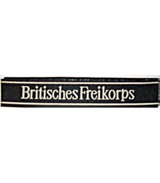 Britisches Freikorps Cuff Title