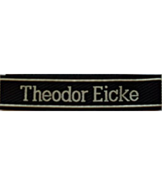 Theodor Eicke Cuff title