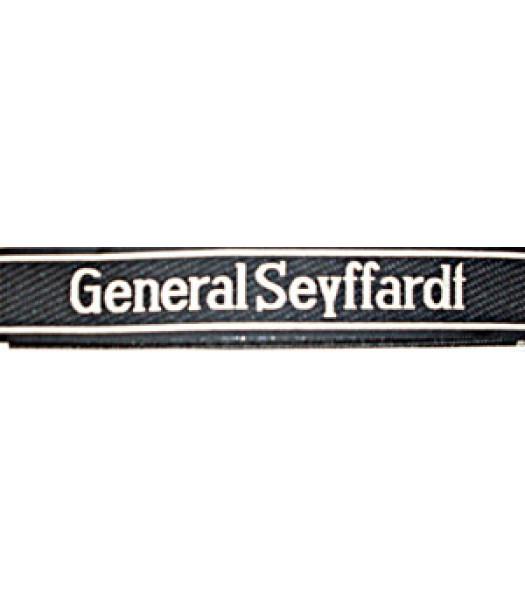 General Seyffardt Cuff Title