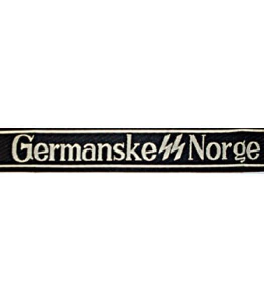 Germanske SS Norge Cuff Title