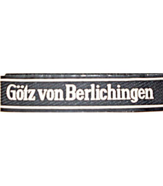 Gotz Von Berlichingen Cuff Title