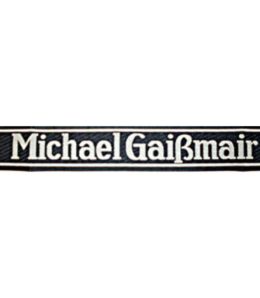 Michael Gaismair Cuff title