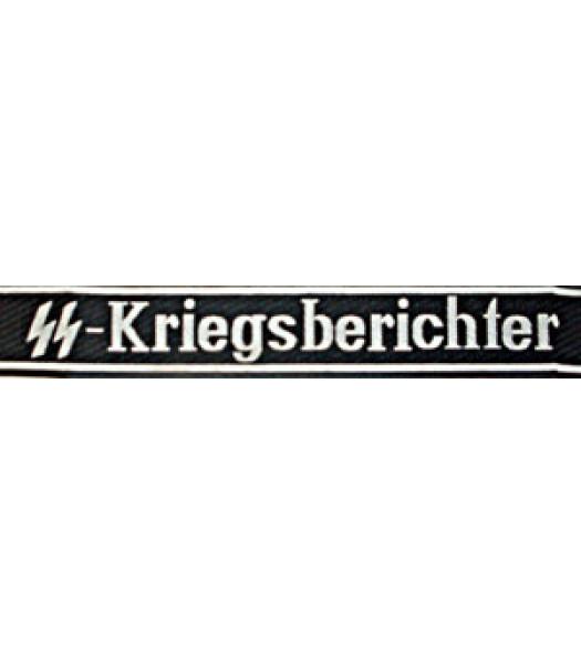 SS Kriegsberichter Cuff title