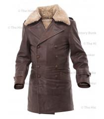 Czech Sniper leather coat