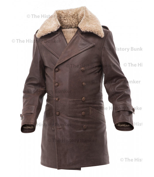 Czech Sniper leather coat