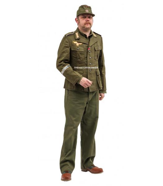 WW2 German Afrika Korps uniform package to hire
