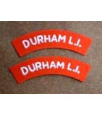 Durham Light Infantry Shoulder Title