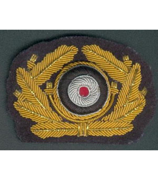 Heer German Generals cap wreath