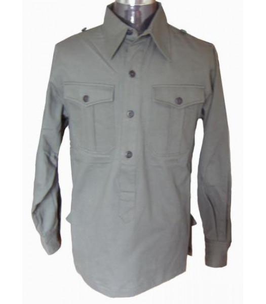 ww2 German soldiers shirt grey