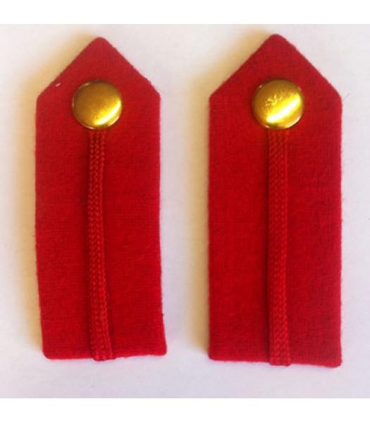 WW2 British army staff officer gorgets - 1 pair