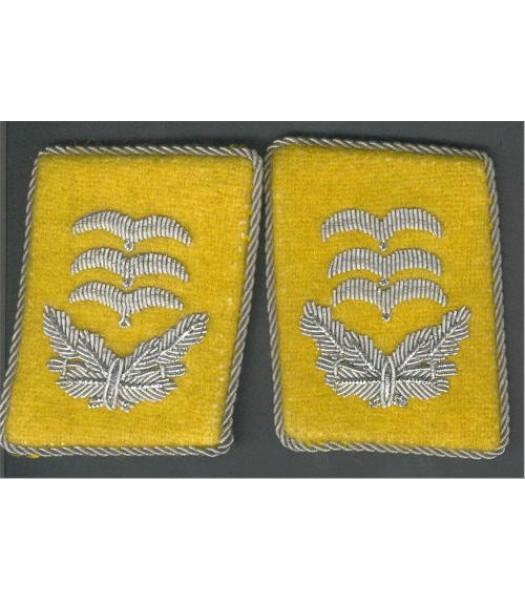 Luftwaffe Collar Tabs - Hauptman