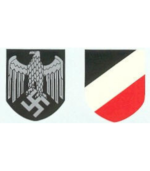M35/M42 German Helmet Decal - Heer Decal