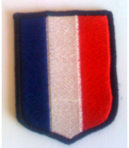 French SS Volunteers Shield