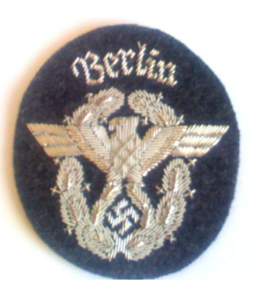 WW2 Berlin Police Patch