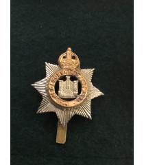 Devon regiment cap badge WW1