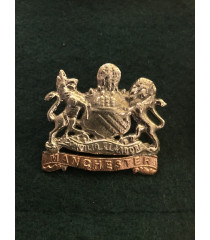 Manchester regiment cap badge WW1