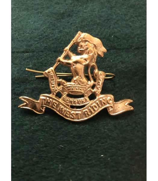 West Riding regiment cap badge WW1
