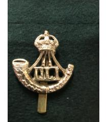 Durham Light Infantry regiment cap badge WW1