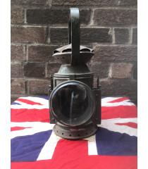 MILITARY PROP HIRE - WW2 British railways oil lamp lantern