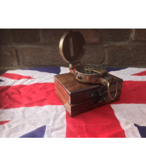 MILITARY PROP HIRE - WW2 British officers thumb compass