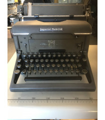 MILITARY PROP HIRE - Vintage 1940s Empire Typewriter