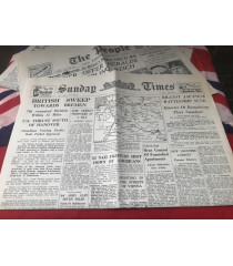 MILITARY PROP HIRE - 1939 - 45  WW2 newspapers