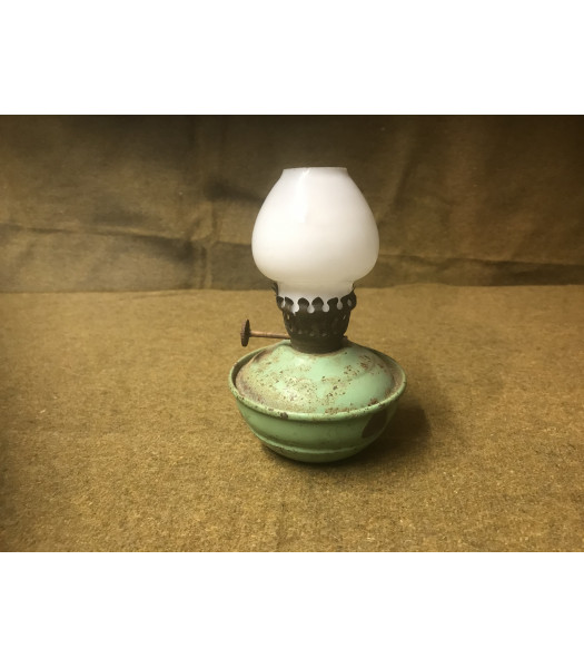 MILITARY PROP HIRE - WW2 British Anderson Shelter oil lamp