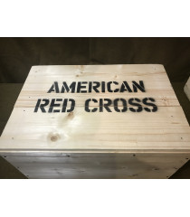 MILITARY PROP HIRE - WW2 US Lend Lease medical supplies crates